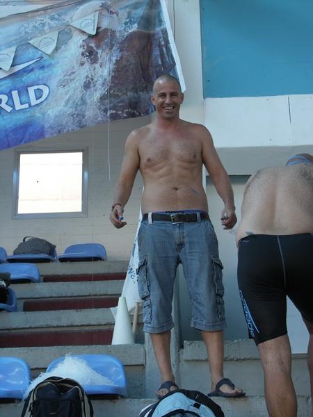 אליפות ישראל למאסטרס בשחייה - אורי סלע