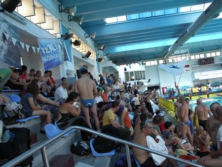 אליפות ישראל למאסטרס בשחייה - אווירה מחשמלת לפני הזינוקים