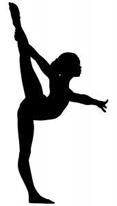 איור של אישה מבצעת תרגיל גמישות