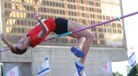 דניאל פרנקל גמר אירופי ושלושה שיאי ישראל