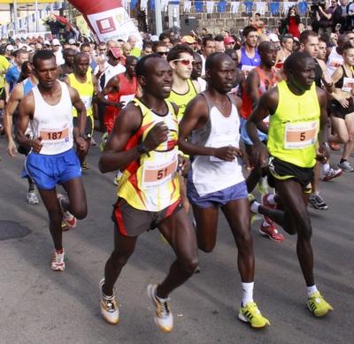 ריצה - לא כל רצי העילית בעלי סגנון ריצה זהה