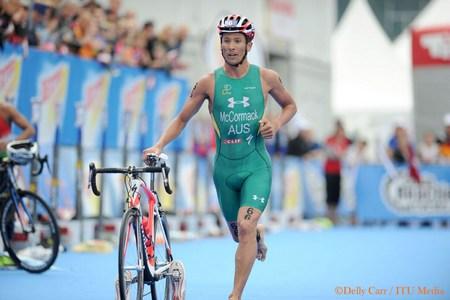 אליפות העולם בטריאתלון - כריס מק-קרומק