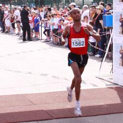 מרוץ רעננה - קו סיום